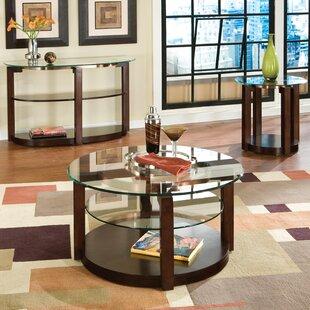 Standard Furniture Coronado 3 Piece Coffee Table Set