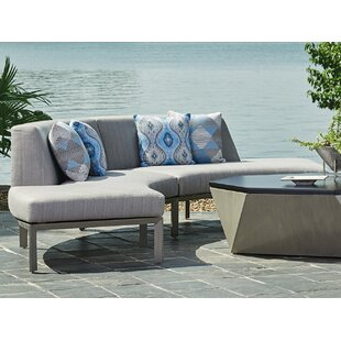Tommy Bahama Home Del Mar Curved Sectiona..