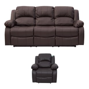 Kennison 2 Piece Reclining Sofa Set By Ebern Designs
