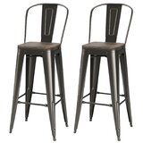 Bosse 30'' Bar Stool (Set of 2) by 17 Stories