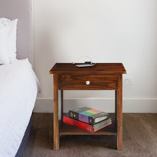 Comparison Thane 1 Drawer Nightstand by Andover Mills