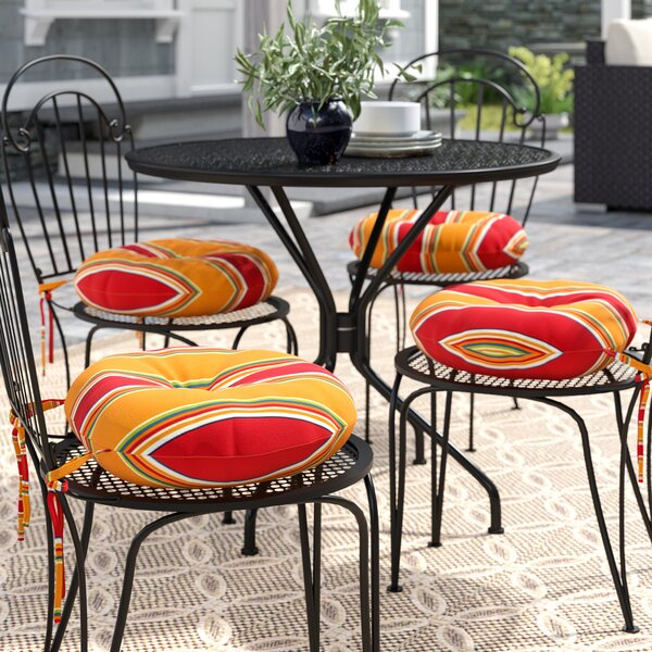 Remarkable 15 Inch Round Bistro Chair Cushions Wayfair Home Remodeling Inspirations Cosmcuboardxyz