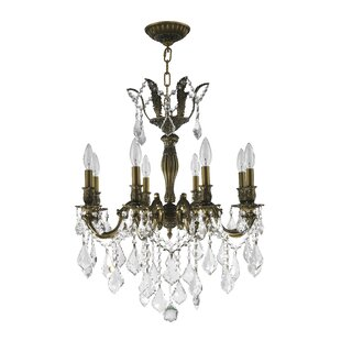 Savings Weisser 8-Light Antique Bronze Candle Style Chandelier By Astoria Grand
