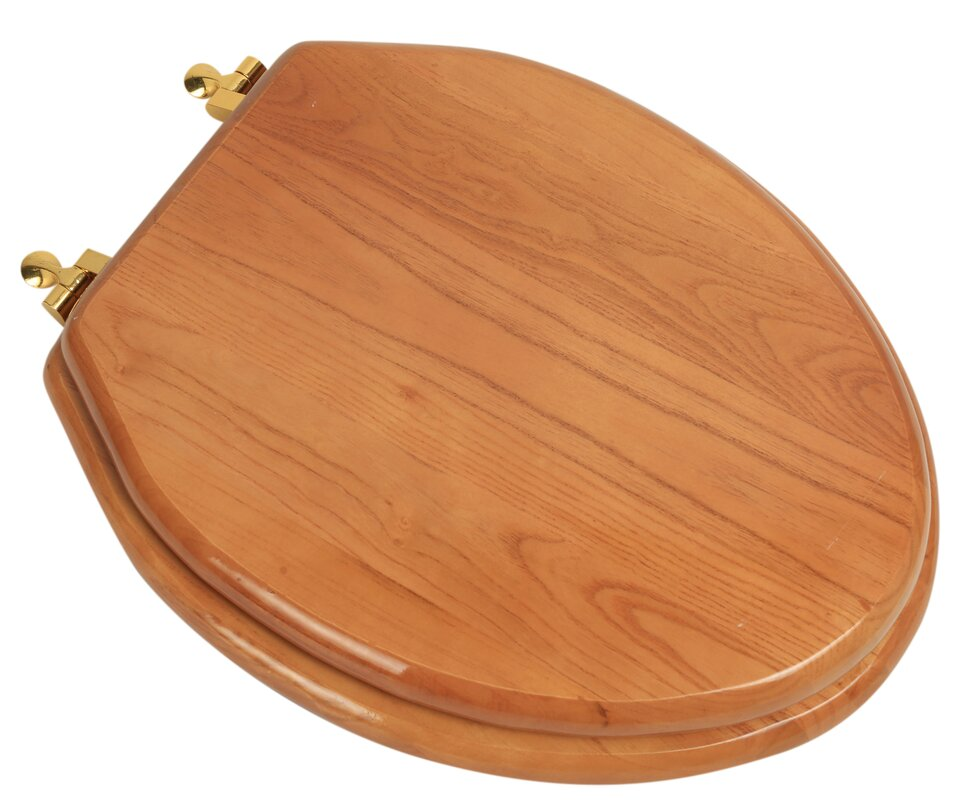 gold plated toilet seat. Designer Solid Oak Wood Elongated Toilet Seat PlumbingTechnologiesLLC