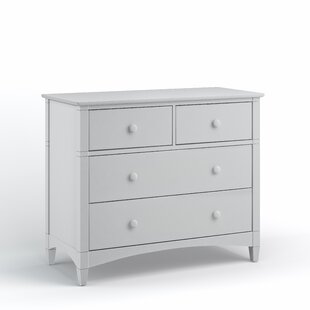 Harriet Bee Bonneau 4 Drawer Dresser