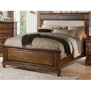 Millwood Pines Saul Upholstered Panel Bed