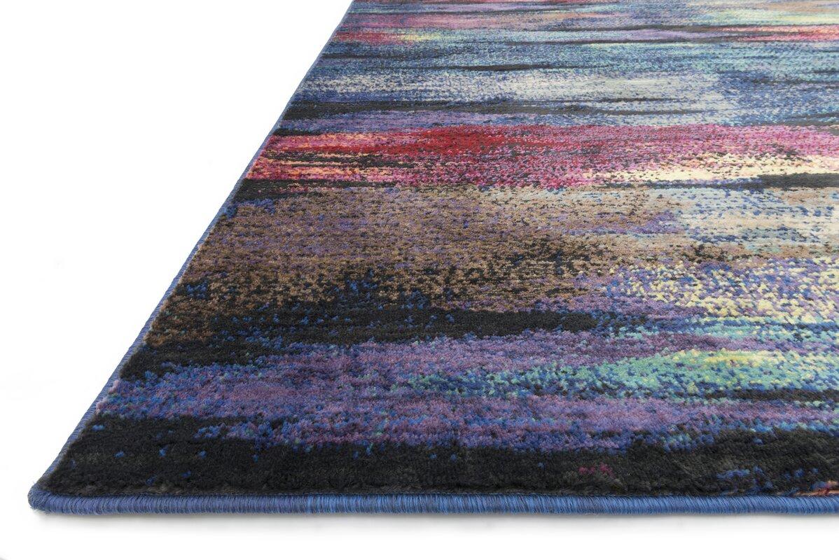 loloi rugs madeline peacock area rug & reviews | wayfair