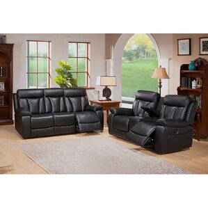Plymouth 2 Piece Living Room Set by Coja