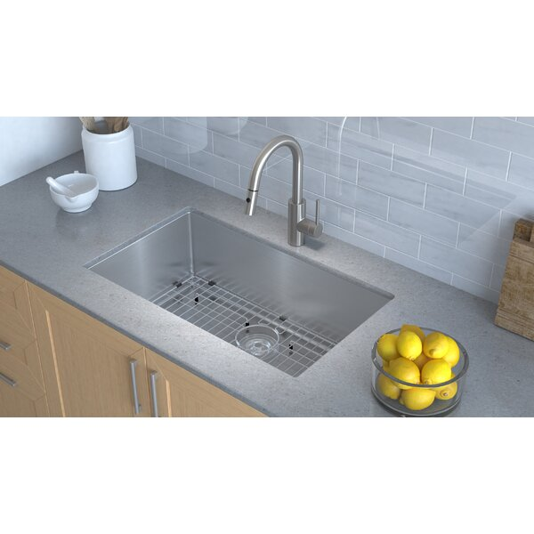 Nice Kraus® KHU100 30 30u201d Handmade Undermount Stainless Steel Kitchen Sink U2013  Durable U0026