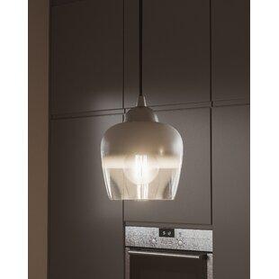 Orren Ellis Jannie 1-Light Bell Pendant