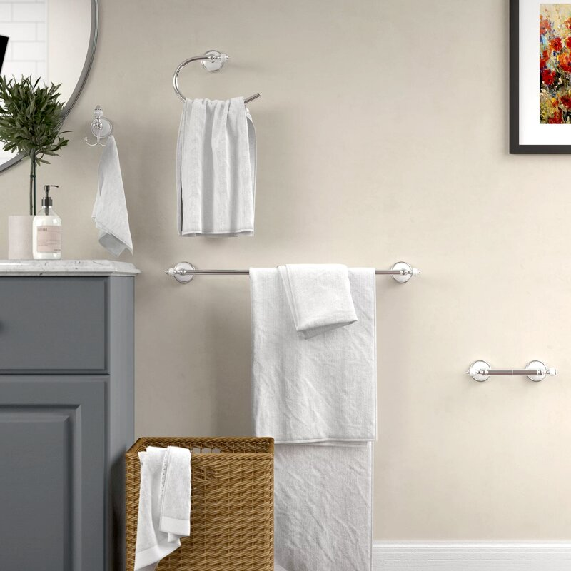 Charlton Home Isai 4 Piece Bathroom Hardware Set Reviews Wayfair Ca