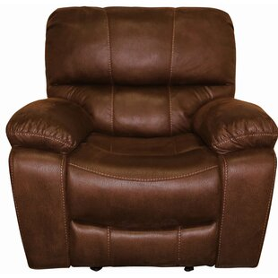 Gracehill Manual Glider Recliner by Three Posts