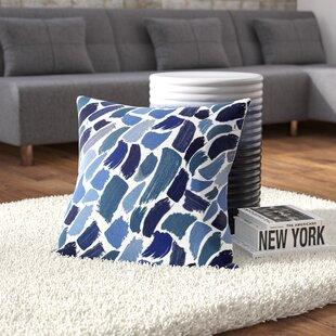 Goodlow Abstract Outdoor Throw Pillow
