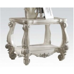 Maio Wood End Table by Ast..