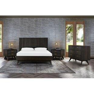 Karesinda Platform 4 Piece Bedroom Set in  Queen