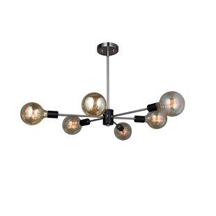 Best Price Ethan 6-Light Chandelier By Woodbridge Lighting