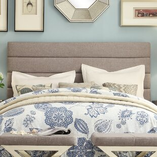 Three Posts Canton Upholstered Panel Headboard