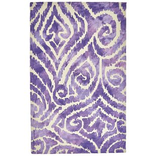 Searching for Emmeline Hand-Tufted Violet Indoor/Outdoor Area Rug By Ebern Designs