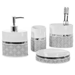 Price Check 4-Piece Bathroom Accessory Set By Creative Scents