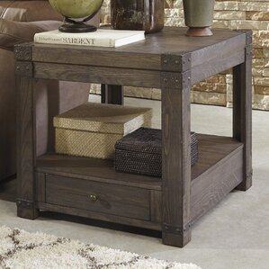Bryan End Table With Storage by Loon Peak