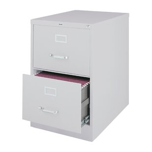 Scalise 2 Drawer Commercial Letter Size Vertical filing cabinet