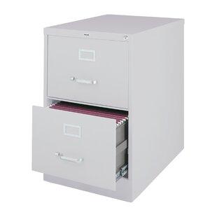 Scalise 2 Drawer Commercial Letter Size Vertical filing cabinet