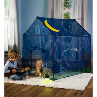 Magic Cabin Glow in the Dark Firefly Play Tent