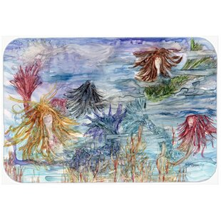 Abstract Mermaid Water Fantasy Kitchen/Bath Mat