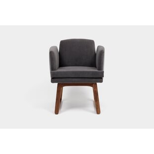 Allison Sled Base Upholstered Dining Chair ARTLESS