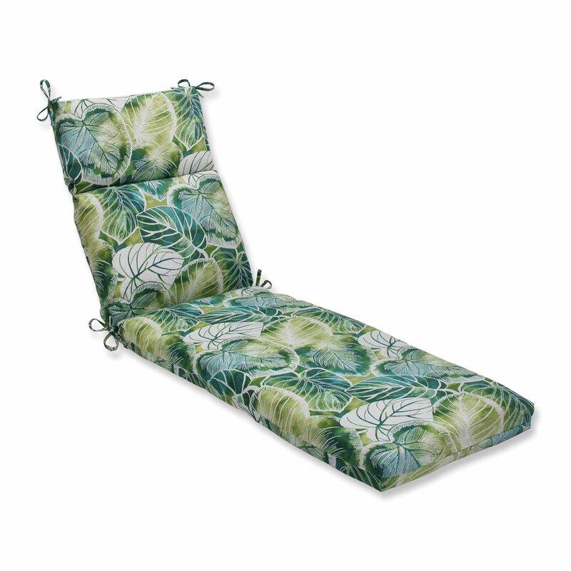 Bay Isle Home Vidalia Indoor Outdoor Chaise Lounge Cushion Reviews Wayfair
