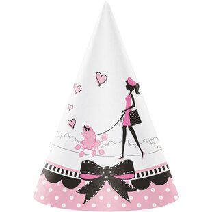 In Paris Hat Paper Disposable Party Favor (Set of 24)