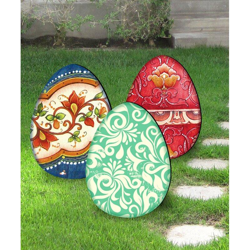 Easter Eggs Set of 3
