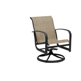 Fremont Sling Rocker Swivel Patio Dining Chair