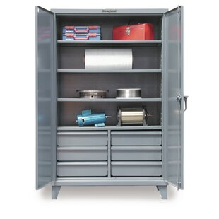 78H x 72W x 24D 2 Door Storage Cabinet by Strong Hold Products