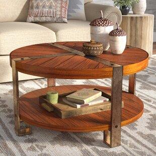 Gwynne Round Coffee Table by Laurel Foundry Modern Farmhouse