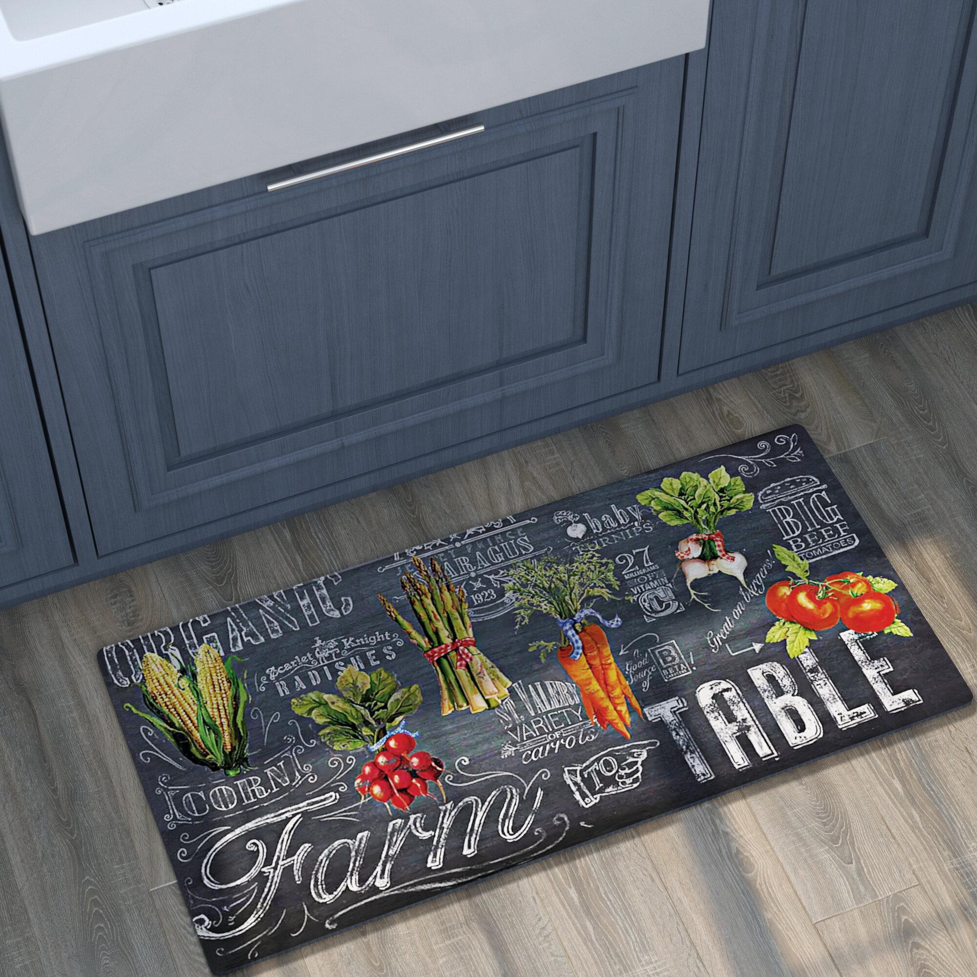 Gracie Oaks Mandragore Farm To Table Kitchen Mat Reviews Wayfair