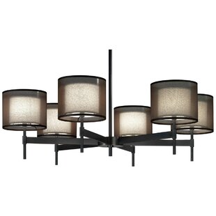 Robert Abbey Saturnia 6-Light Shaded Chandelier