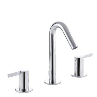 Kohler Stillness Widespread Bathroom Faucet with Drain Assembly