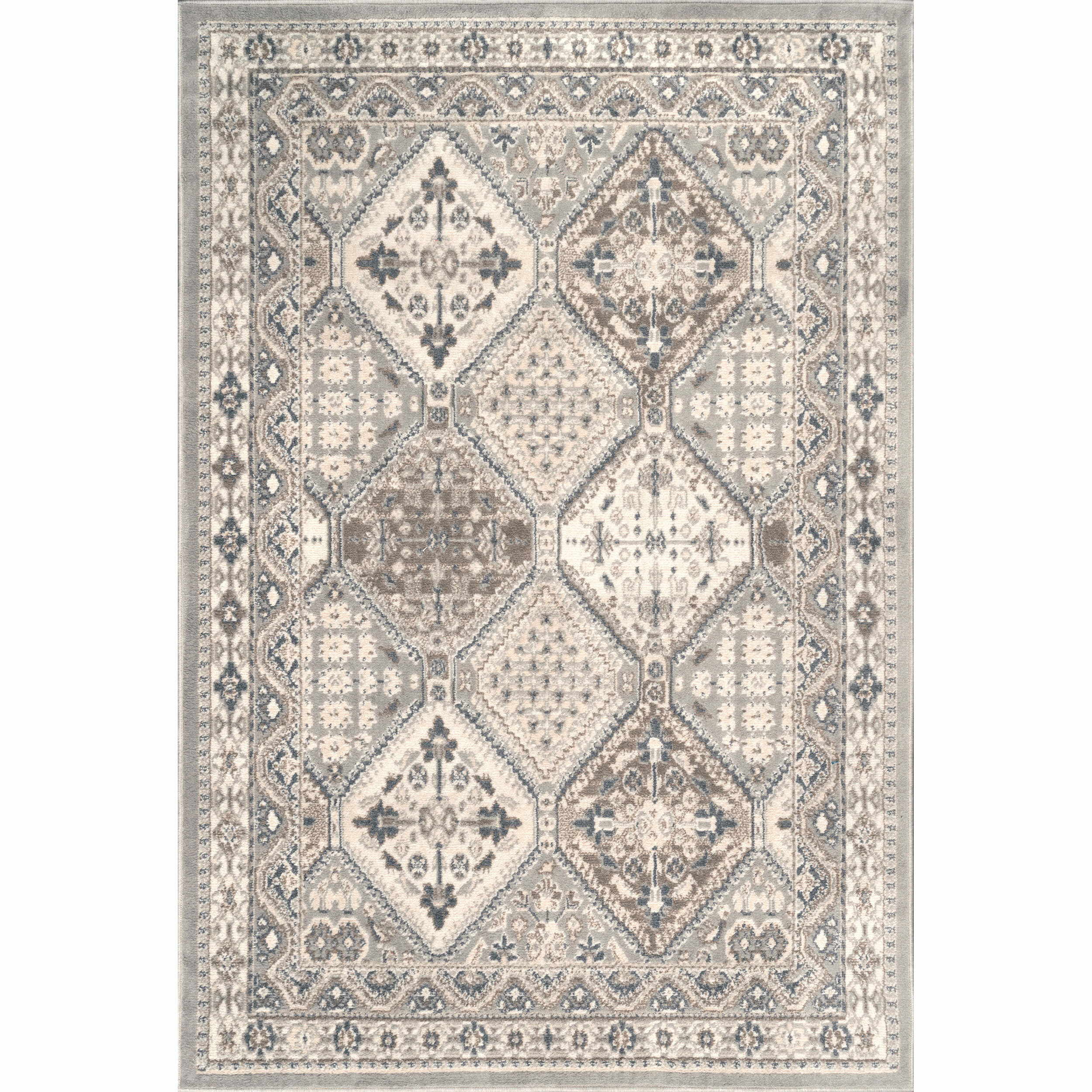 Charlton Home Daye Gray Area Rug