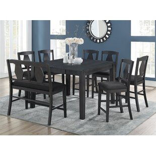Munos 8 Piece Pub Table Set Charlton Home