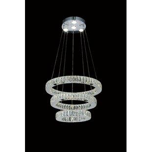 CWI Lighting Florence Crystal Chandelier