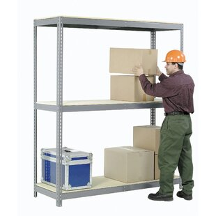 Wide Span Storage Rack with Wire Deck