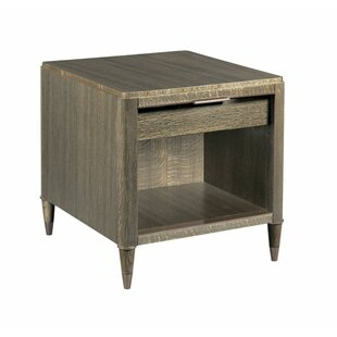 Aalborg End Table with Storage