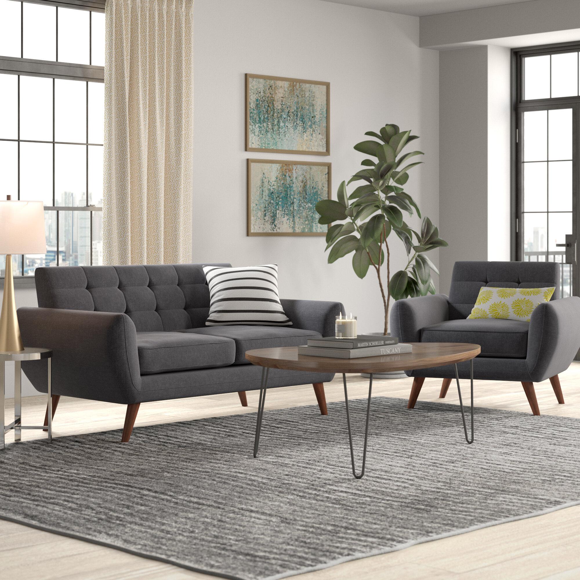 Philip 2 Piece Living Room Set