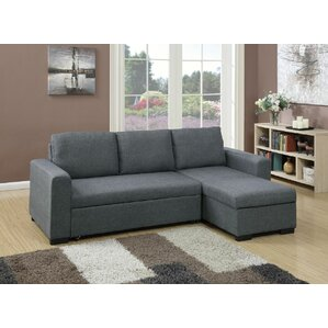 Infini Furnishings Sleeper Sectional Image