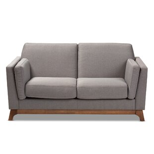 Compare Brummett Mid-Century Modern Loveseat by George Oliver Reviews (2019) & Buyer's Guide