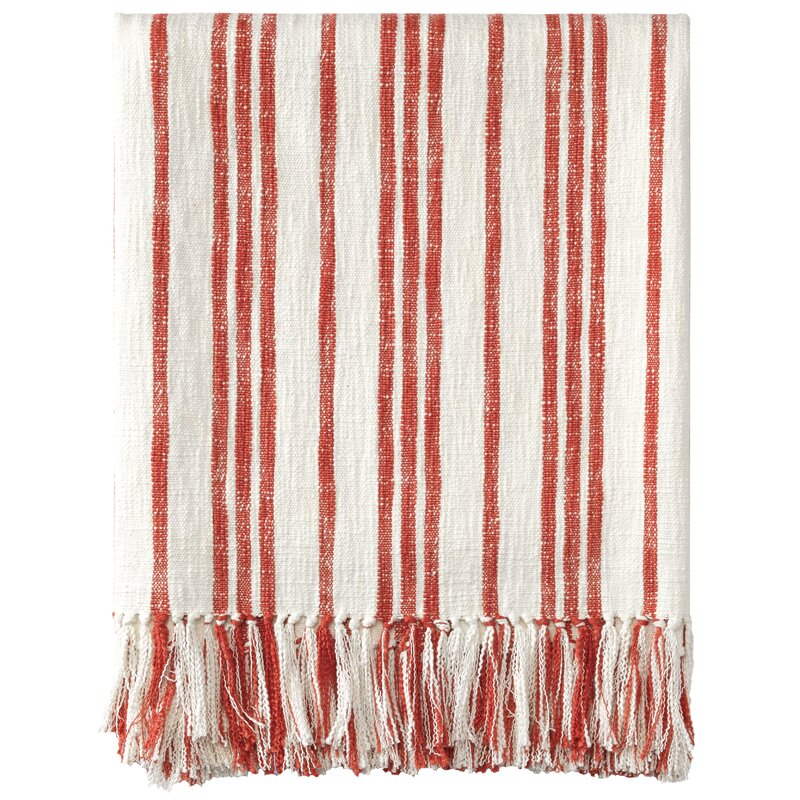 Grain Sack Cotton Throw