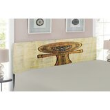 Egyptian Upholstered Panel Headboard by East Urban Home