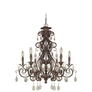 Astoria Grand Lilliane 6-Light Candle Sty..