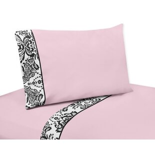 Sophia 4 Piece 100% Cotton Sheet Set
